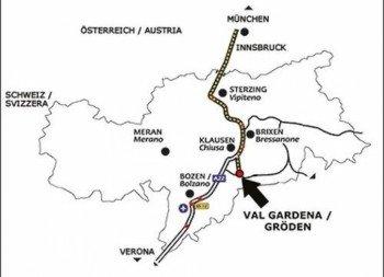 Lageplan Mar Dolomit