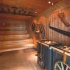 Die Saunawelt ist an das traditionelle Handwerk im Fichtelgebirge angelehnt.