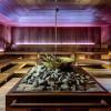 Das Sauna-Angebot reicht von klassischen bis zu saisonalen Aufguss-Ritualen aus aller Welt.