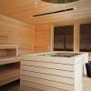 Zur Thermenanlage gehört auch eine Sauna.
