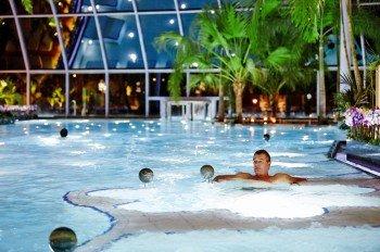 Im Whirlpool lässt sich das karibische Flair gleich doppelt so gut genießen