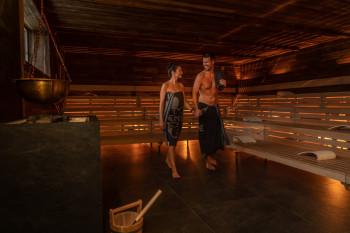 Der Saunabereich Hyggedal ist ein neues Angebot explizit für Ruhesuchende.