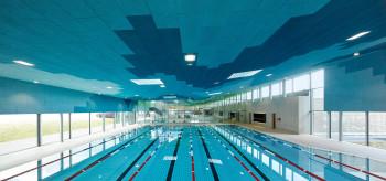Das Sportbecken der Wasserwelt