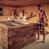 In der Saunawelt erwartet dich ein vielfältiges Aufgussprogramm.