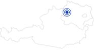Badesee/Strand Klausteich (Waldteich) im Waldviertel: Position auf der Karte