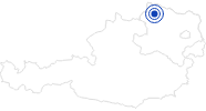 Badesee/Strand Badeteich Echsenbach im Waldviertel: Position auf der Karte