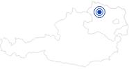 Badesee/Strand Kampsee/Dobrastausee im Waldviertel: Position auf der Karte