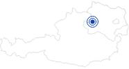 Badesee/Strand Freizeitanlage mit Badeteich Nöchling im Waldviertel: Position auf der Karte