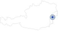 Badesee/Strand Naturbadesee Markt St. Martin im Sonnenland Mittelburgenland: Position auf der Karte