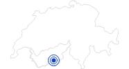 Badesee/Strand Schalisee in Zermatt: Position auf der Karte