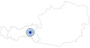 Badesee/Strand Durlassboden Stausee im Zillertal: Position auf der Karte
