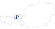 Badesee/Strand Schlitterer Badesee Erste Ferienregion im Zillertal: Position auf der Karte
