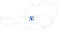 Badesee/Strand Ramsauer Badesee - Ramsau Beach in Schladming-Dachstein: Position auf der Karte