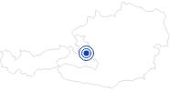 Badesee/Strand Waldbad Lungötz in Tennengau-Dachstein West: Position auf der Karte