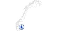 Badesee/Strand Sognsvann – Badesee in Oslo: Position auf der Karte