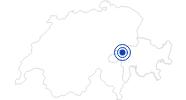 Badesee/Strand Brigelser Badesee in Surselva: Position auf der Karte