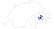 Badesee/Strand Lai Barnagn in Savognin Bivio Albula: Position auf der Karte
