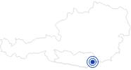 Badesee/Strand Naturbadesee Lavamünd im Lavanttal: Position auf der Karte