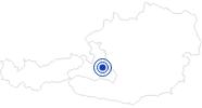 Badesee/Strand Reitecksee Reitdorf in der Salzburger Sportwelt: Position auf der Karte