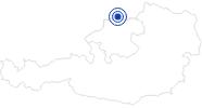 Badesee/Strand Naturfluss- und Freibad Aigen-Schlägl im Böhmerwald: Position auf der Karte