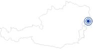 Badesee/Strand Neusiedler See am Neusiedler See: Position auf der Karte