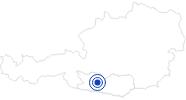 Badesee/Strand Millstätter See am Millstätter See: Position auf der Karte