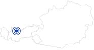 Badesee/Strand Blindsee in der Tiroler Zugspitz Arena: Position auf der Karte