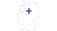 Badesee/Strand Tankumsee im Braunschweiger Land: Position auf der Karte