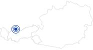 Badesee/Strand Plansee in der Naturparkregion Reutte: Position auf der Karte