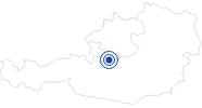 Badesee/Strand Hallstätter See im Dachstein Salzkammergut: Position auf der Karte