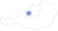 Badesee/Strand Irrsee im Salzkammergut: Position auf der Karte