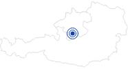 Badesee/Strand Offensee im Salzkammergut: Position auf der Karte