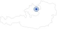 Badesee/Strand Pichlinger See bei Linz in Donau Oberösterreich: Position auf der Karte