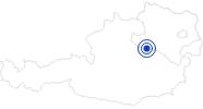 Badesee/Strand Lunzer See im Mostviertel: Position auf der Karte