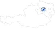 Badesee/Strand Ebersdorfer See in Ober-Grafendorf im Mostviertel: Position auf der Karte