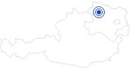 Badesee/Strand Stausee Ottenstein im Waldviertel: Position auf der Karte