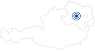 Badesee/Strand Ratzersdorfer See in St. Pölten im Mostviertel: Position auf der Karte