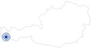Badesee/Strand Mountain Beach in Gaschurn in der Alpenregion Bludenz: Position auf der Karte