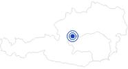 Badesee/Strand Grundlsee in Ausseerland - Salzkammergut: Position auf der Karte
