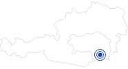Badesee/Strand Wildoner Badesee in Region Graz: Position auf der Karte