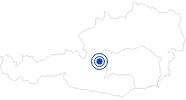Badesee/Strand Freizeitpark Pichl in Schladming-Dachstein: Position auf der Karte