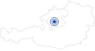 Badesee/Strand Badesee St. Konrad im Salzkammergut: Position auf der Karte
