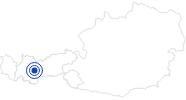 Badesee/Strand Naturbadesee Umhausen Ötztal: Position auf der Karte