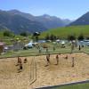 Beachvolleyballfeld am Davos Munts