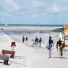 Der Strandübergang auf Amrum