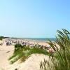 Sieben Kilometer feinster Sandstrand auf Baltrum