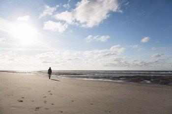 Spiekeroog lädt zu ausführlichen Strandspaziergängen ein