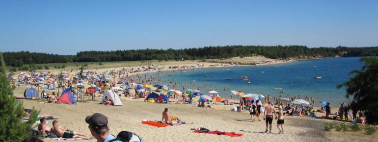 Die Badesaison am größten See Sachsens läuft vom 15.05. – 15.09.
