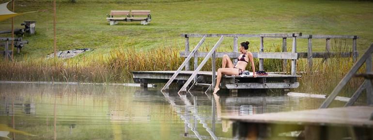 Der Bananensee: Entspannen, relaxen, genießen.
