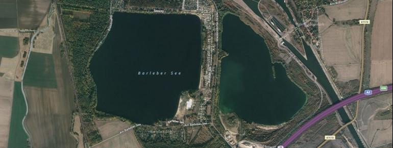 Barleber See I und II bilden das Zentrum eines beliebten Naherholungsgebietes in Magdeburg.